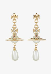 Vivienne Westwood - PEARL DROP EARRINGS - Earrings - rhodium - 4