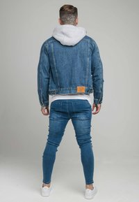SIKSILK - JACKET WITH DETACHABLE HOOD - Spijkerjas - blue denim - 2