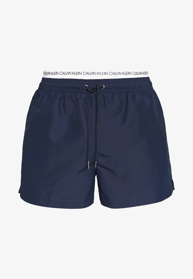 DOUBLE - Swimming shorts - blue