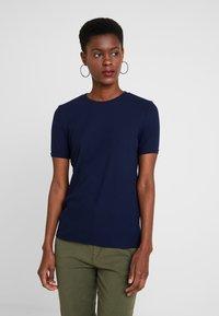 KIOMI TALL - Basic T-shirt - maritime blue - 0