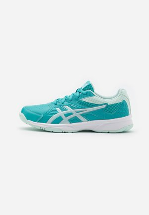 COURT SLIDE - Multicourt tennis shoes - techno cyan/bio mint