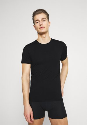 RIND SINGLE PACK - Unterhemd/-shirt - black