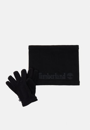 GLOVES SNOOD UNISEX SET - Bonnet - black