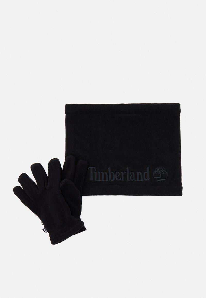 Timberland - GLOVES SNOOD UNISEX SET - Beanie - black