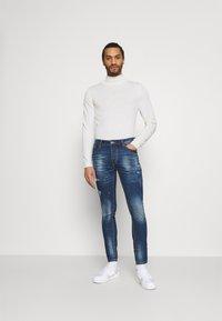 Kings Will Dream - KERSLEY - Slim fit jeans - blue denim - 1
