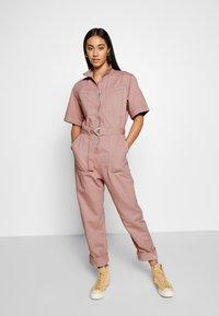 Weekday - BENDER BOILER - Jumpsuit - dusty pink - 1