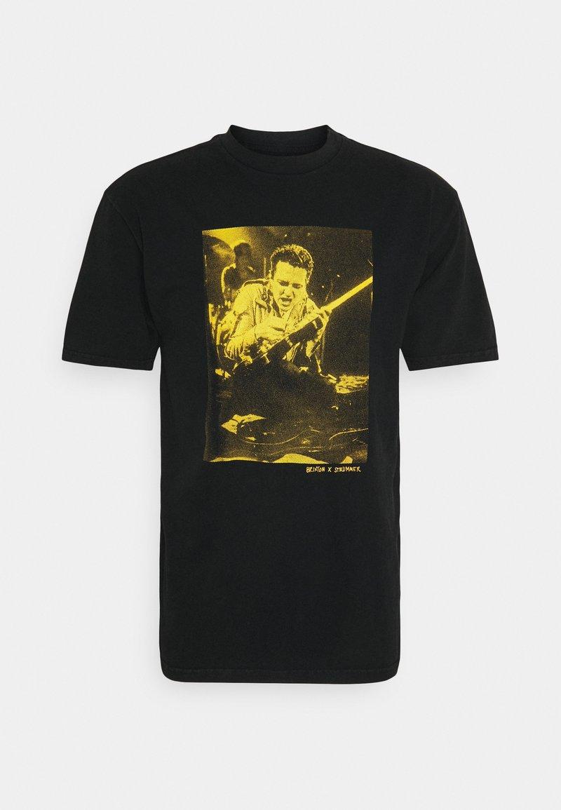 Brixton - STRUMMERSTAGE - Print T-shirt - black