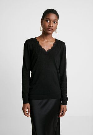 MITOU LONG NEW - Strickpullover - noir