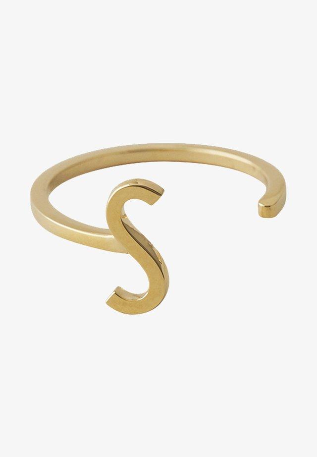 RING S - Ringe - gold