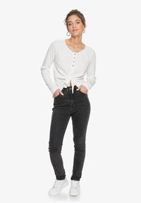 Roxy - Long sleeved top - snow white - 1