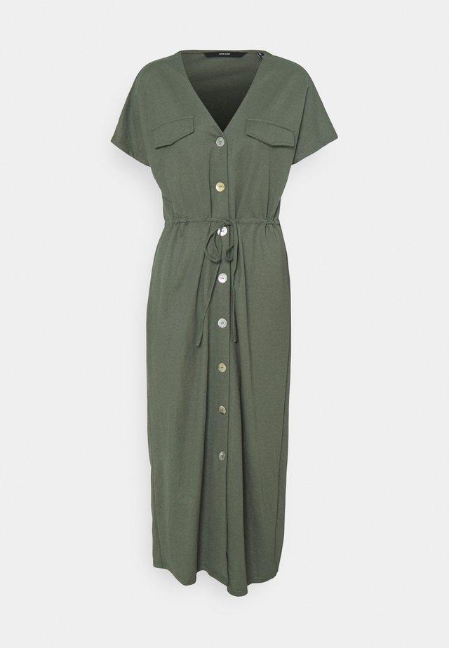 VMINAMARIA SS WIDE CALF DRESS - Maxi dress - laurel wreath