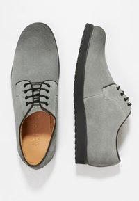 NOIRE LINE - MARC - Volnočasové šněrovací boty - grey - 1