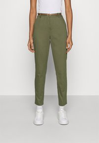 b.young - DAYS CIGARET PANTS  - Chinos - olive night - 0
