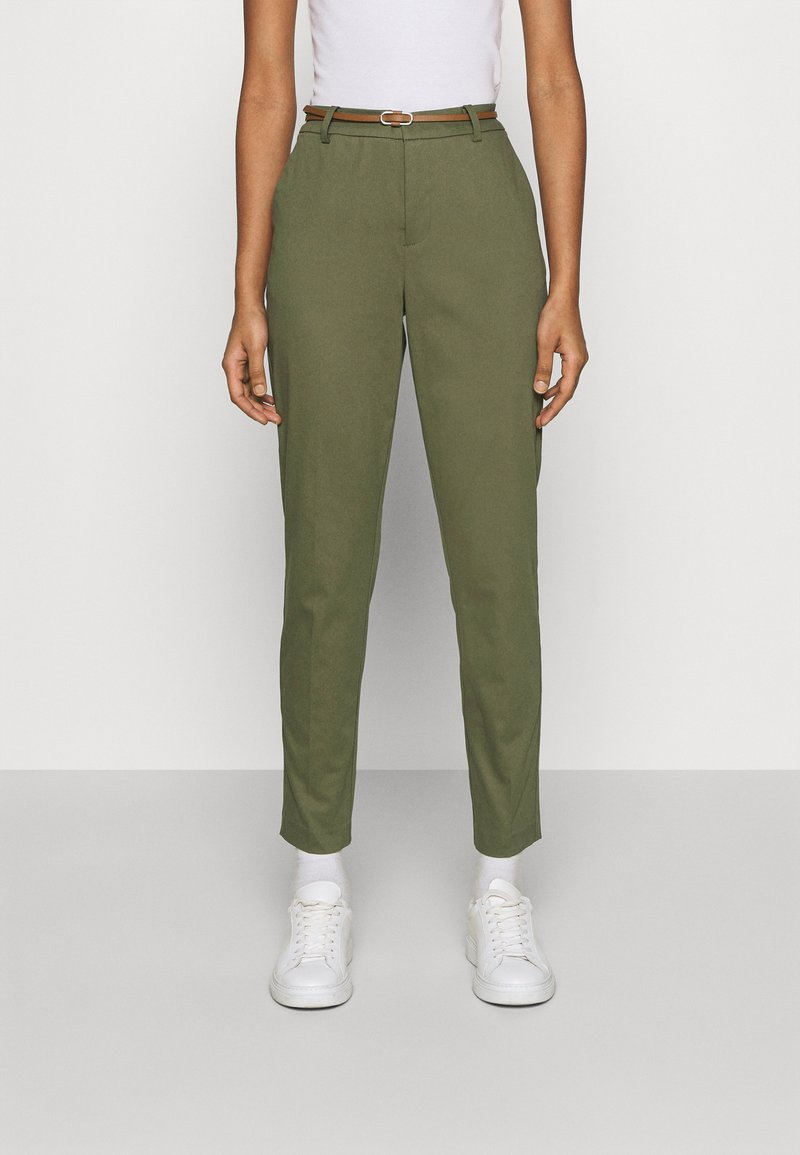 b.young - DAYS CIGARET PANTS  - Chinos - olive night