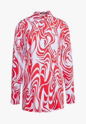 EDDIE - Skjorte - red swirl