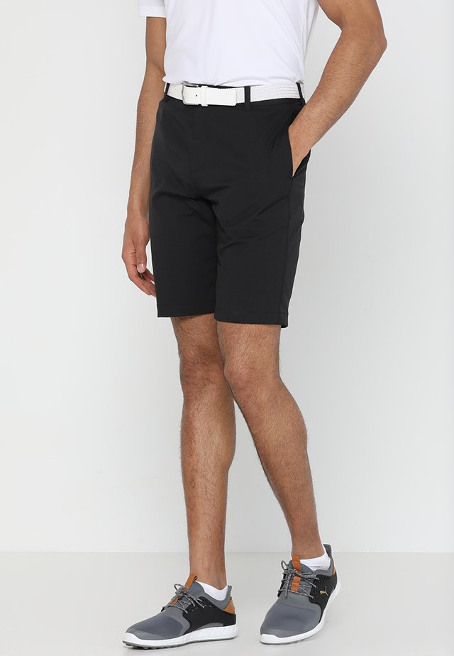 JACKPOT - Pantalón corto de deporte - black heather