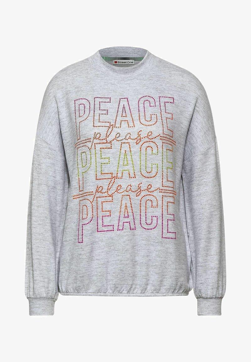 Street One - Sweatshirt - grau