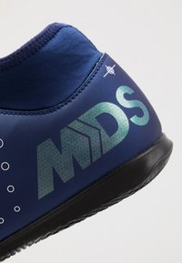 Nike Performance - MERCURIAL 7 CLUB IC - Botas de fútbol sin tacos - blue void/metalic silver/white/black - 5
