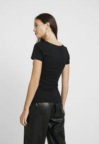 Anna Field - 2 PACK - T-shirt basic - white/black - 3