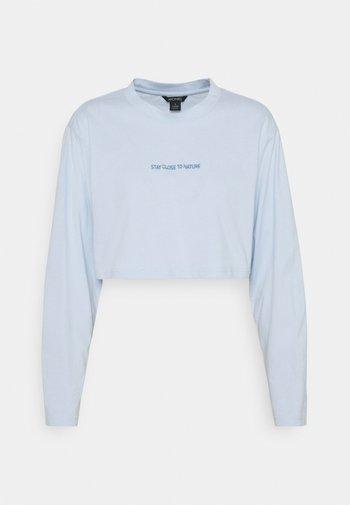 FEMI - T-shirt à manches longues - blue light