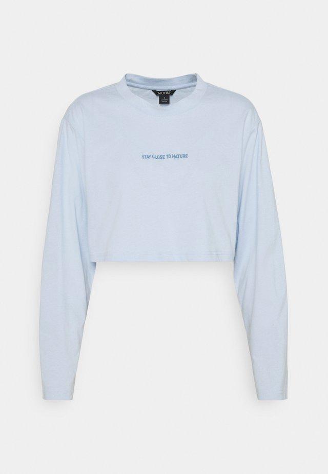 FEMI - Top sdlouhým rukávem - blue light