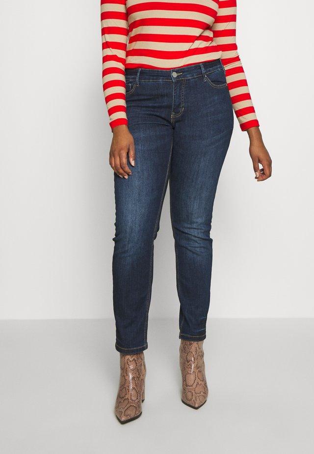 EMILY - Slim fit jeans - blue denim