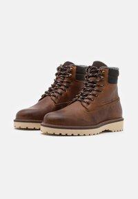 GANT - RODEN - Lace-up ankle boots - cognac - 1