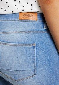 ONLY - ONLKENDELL REGSK ANK ZIP - Jeans Skinny Fit - light blue denim - 5