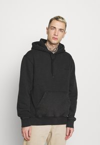 Carhartt WIP - HOODED MOSBY - Sweatshirt - black - 0