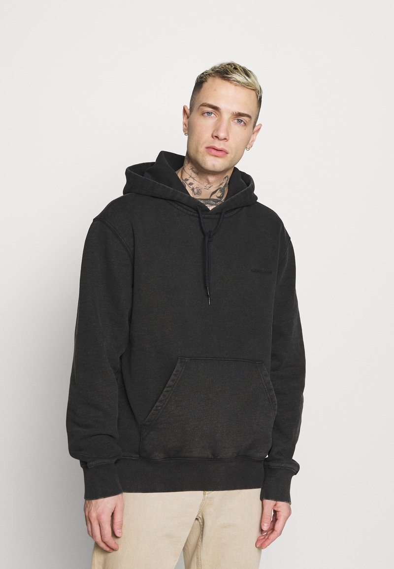 Carhartt WIP - HOODED MOSBY - Sweatshirt - black