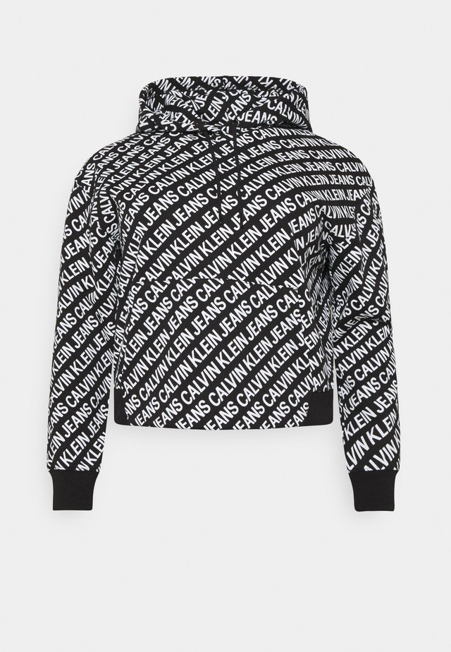 Sweatshirt - black/ white