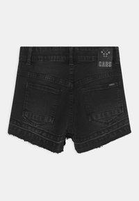 Cars Jeans - HAWA  - Džínové kraťasy - black denim - 1