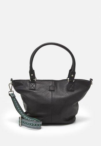 TRIANGLE SHOPPER - Shoppingveske - black