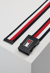 Tommy Hilfiger - CORP REVERSIBLE BELT - Pasek - navy - 3