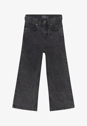 GIRLS PALAZZO CROPPED - Relaxed fit jeans - grey denim