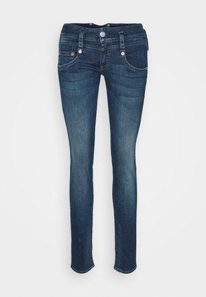 PITCH SLIM COATED STRETCH - Slim fit jeans - gloomy