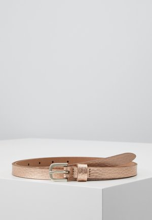Belt - rosegold metallic