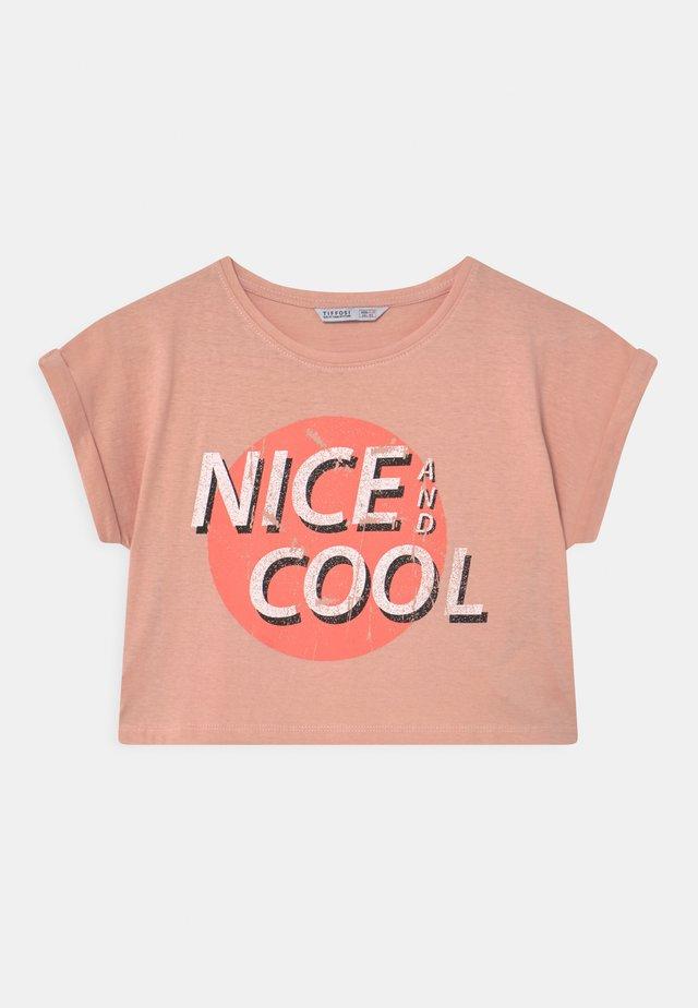 CHARLIE - Print T-shirt - light pink