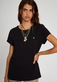 Volcom - STONE BLANKS TEE - Basic T-shirt - black - 3