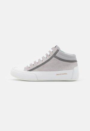 DENVER - Zapatillas altas - grey/bianco