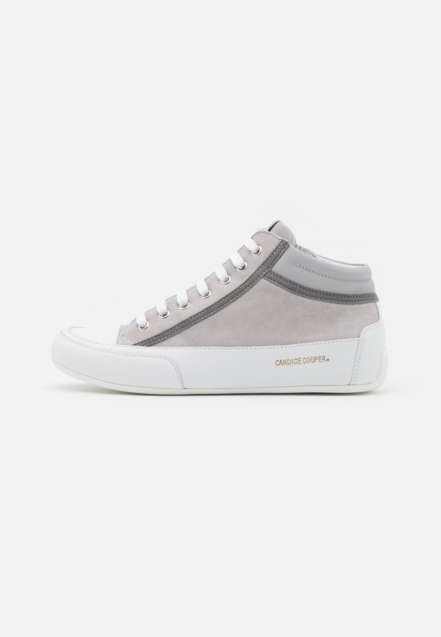 DENVER - Höga sneakers - grey/bianco