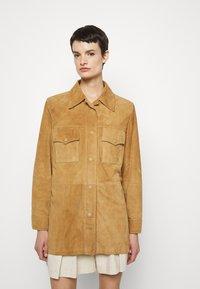 Alberta Ferretti - Button-down blouse - beige - 0