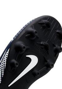 Nike Performance - MERCURIAL JR VAPOR 13 CLUB FG/MG UNISEX - Moulded stud football boots - midnight navy/white - 6