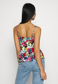 NA-KD - THIN STRAP FLOWY SINGLET - Bluser - multi-coloured - 2