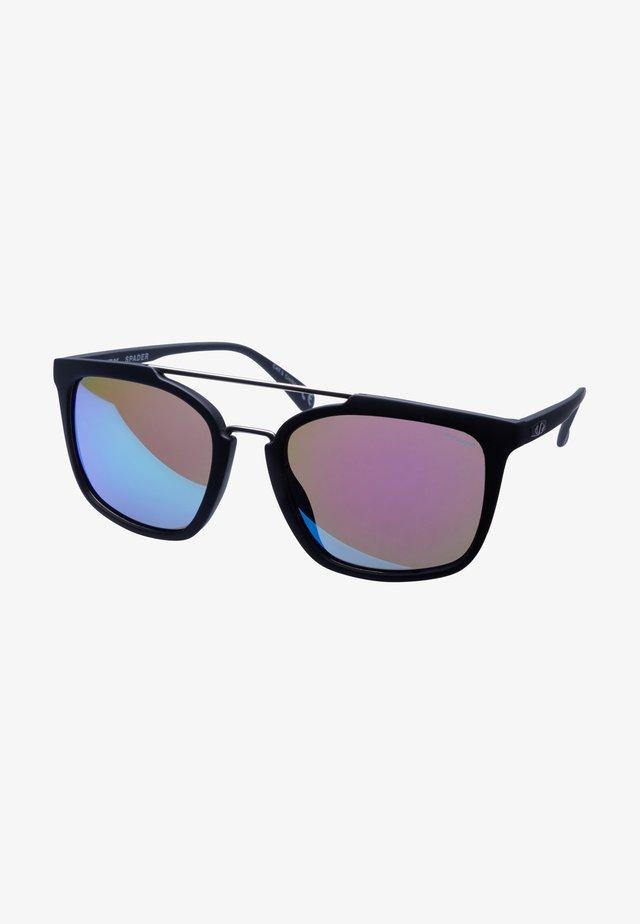 SPADER - Sportsbriller - black