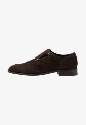 KLEITOS MONK  - Smart slip-ons - dark brown
