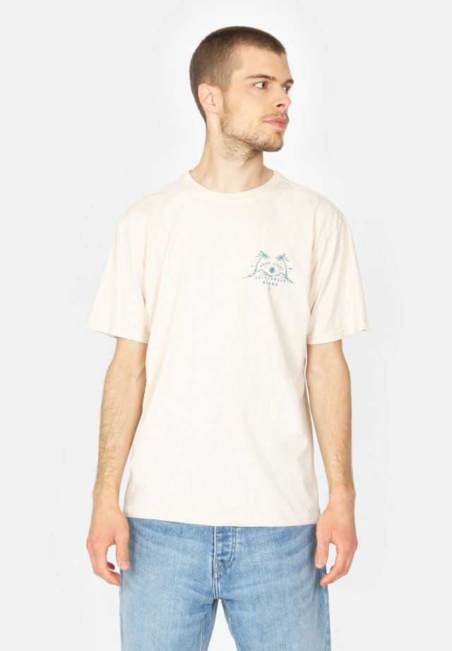 PACK LIGHT TRIP - Print T-shirt - faded pink