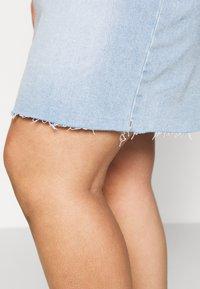 Cotton On Curve - SKIRT - Denim skirt - sky blue - 3