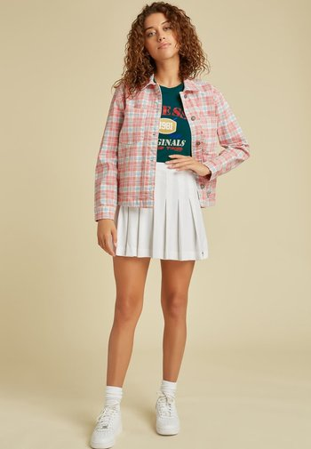 Button-down blouse - rot/merf.