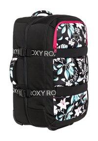 Roxy - ROXY™ IN THE CLOUDS 87L - GROSSER NEOPREN-KOFFER MIT ROLLEN ERJBL - Wheeled suitcase - true black story of sunshine - 2